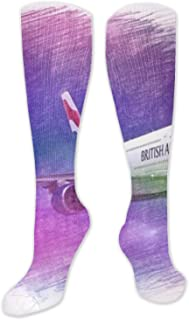 Compression Socks for Men & Women Arctic Wolf Pack Compression Stockings for Runners, Edema