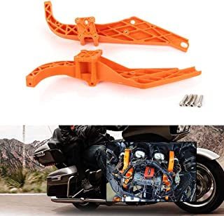 Strong Arm Inner Fairing Support Brackets fits for 1996-2013 Harley Davidson Touring FLHX FLHT Electra Street Glide Fairings by Fancytimes