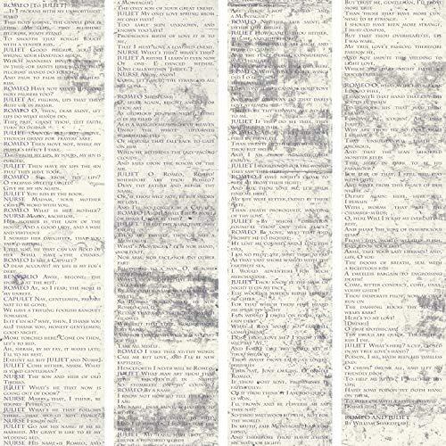 murando Carta da parati PURO 10 m senza ripetere il motivo Fotomurali in TNT Murale Decorazione da Muro XXL Poster Gigante Design Carta per pareti Romeo e Giulietta di Shakespeare m-A-0588-j-b