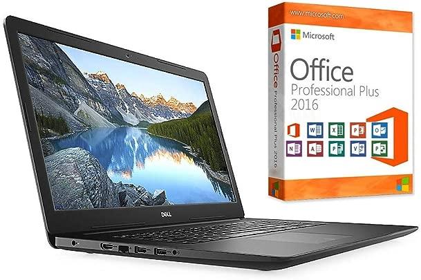 Laptop INSPIRON 3782 8GB DDR4-RAM 256GB SSD Windows 10 PRO MS Office 2016 PRO 44cm 17 3 quot MATT CD DVD Brenner Schätzpreis : 529,00 €