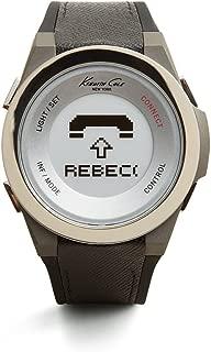 Kenneth Cole New York Unisex 10023867 KC Connect- Technology Digital Display Japanese Quartz Black Watch