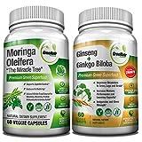 Focus + Energy Bundle | Panax Ginseng & Ginkgo Biloba...