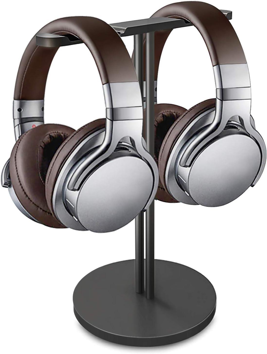 Dual Balance Headphone Stand Headset Aluminum New York OFFicial Mall Gam Double