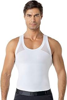 LEO Camiseta Moldeadora/Reductora de compresión Corrector Postura Espalda Hombre