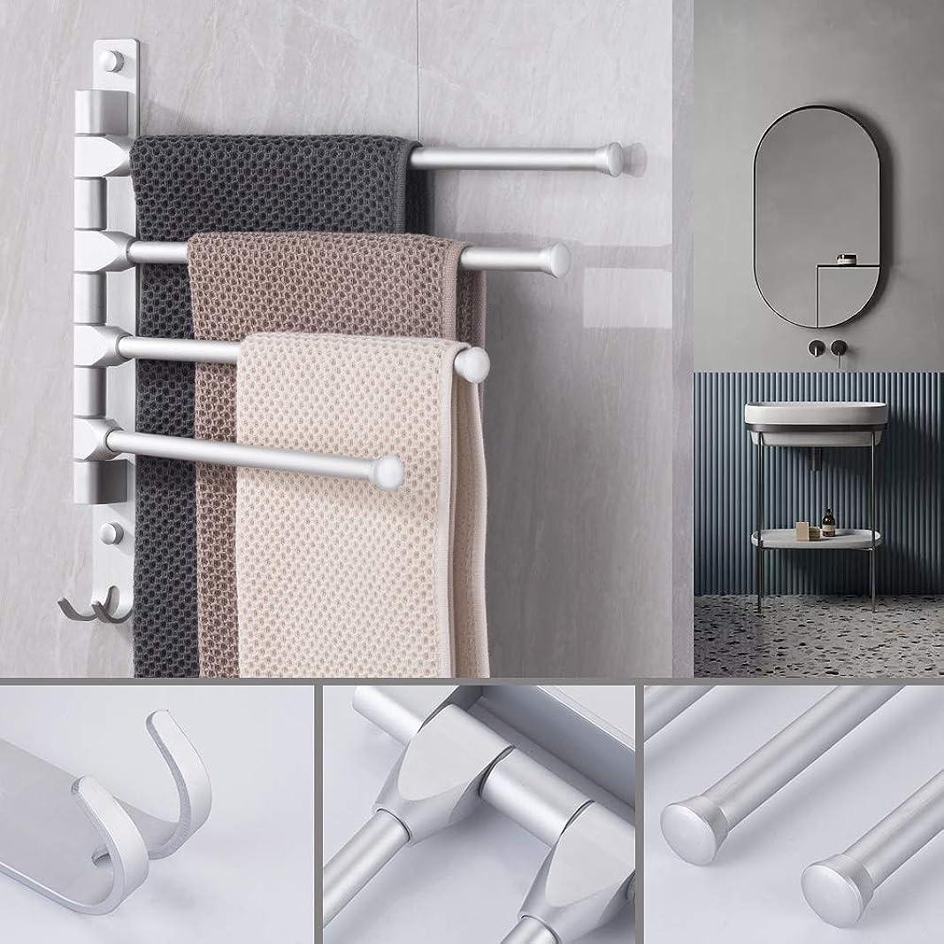 ペグコメントクライアントネイルフリータオルラックドビータオルフック付きフックバスルームタオルラック取り外し可能なタオルバーバスルーム製品