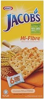 Kraft Jacob's Cracker Biscuits 6 Convi-Packs (628MART) (Hi-Fibre Wheat, 1 Pack)
