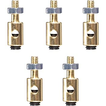 uxcell Linkage Stoppers Connecting Servo Arm,Push Rod for RC Airplane,D4x1.6mm 20pcs