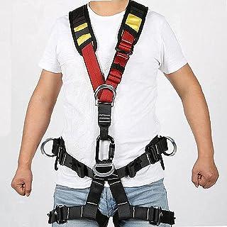 iksvmsis Amovible Harnais d'escalade Homme Femme,Portable Harnais Antichute pour Alpinisme, Escalade, Rappel,Harnais de Se...