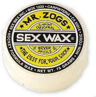 Mr Zogs Sexwax Hockey Stick Wax 1-X Yellow Label Formula, 4 Scents. MrZogsSW
