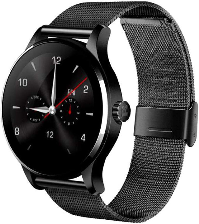 FXAOYWT Blautooth Smart Watch Fitness-Tracker, Herren Sportuhr wasserdicht Herzfrequenz-Schlaf-Monitor, Schrittzhler zum Gehen