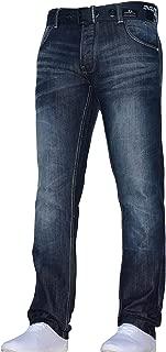 Jeans Wrangler Texas Délavé Jambe Droite Taille 30-46 toutes tailles disponibles