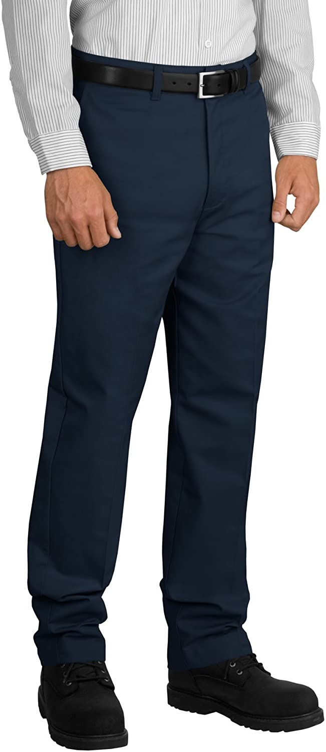 Red Kap mens Stain Resistant, Flat Front Work Pants