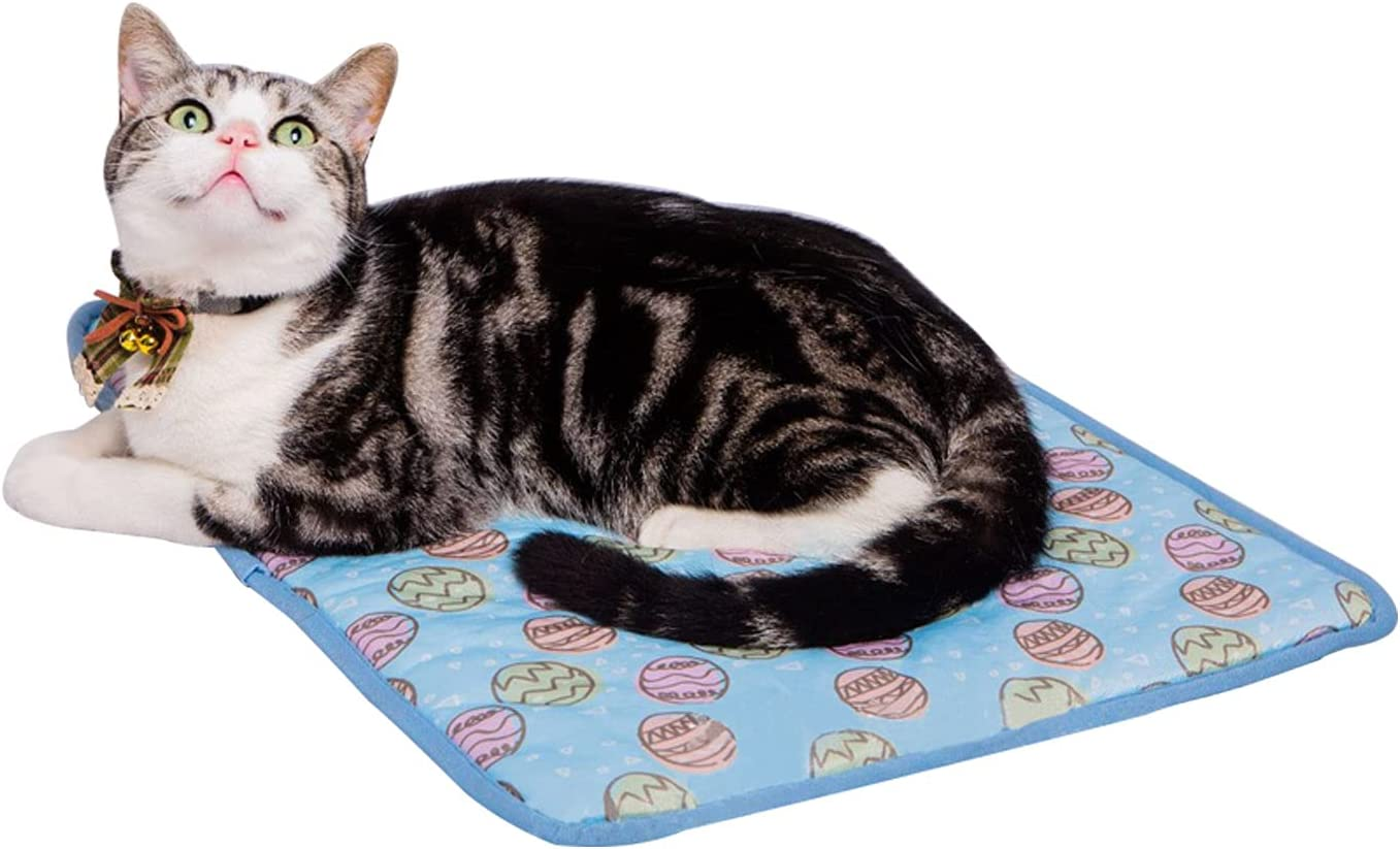 Max 49% OFF Ice Silk Cooling Mat Pad Popular shop is the lowest price challenge for Coolin Cats Breathable Summer Dogs