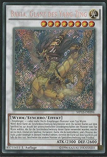 Yu-Gi-Oh! Baxia, Glanz des Yang Zing - 1. Auflage - Deutsch