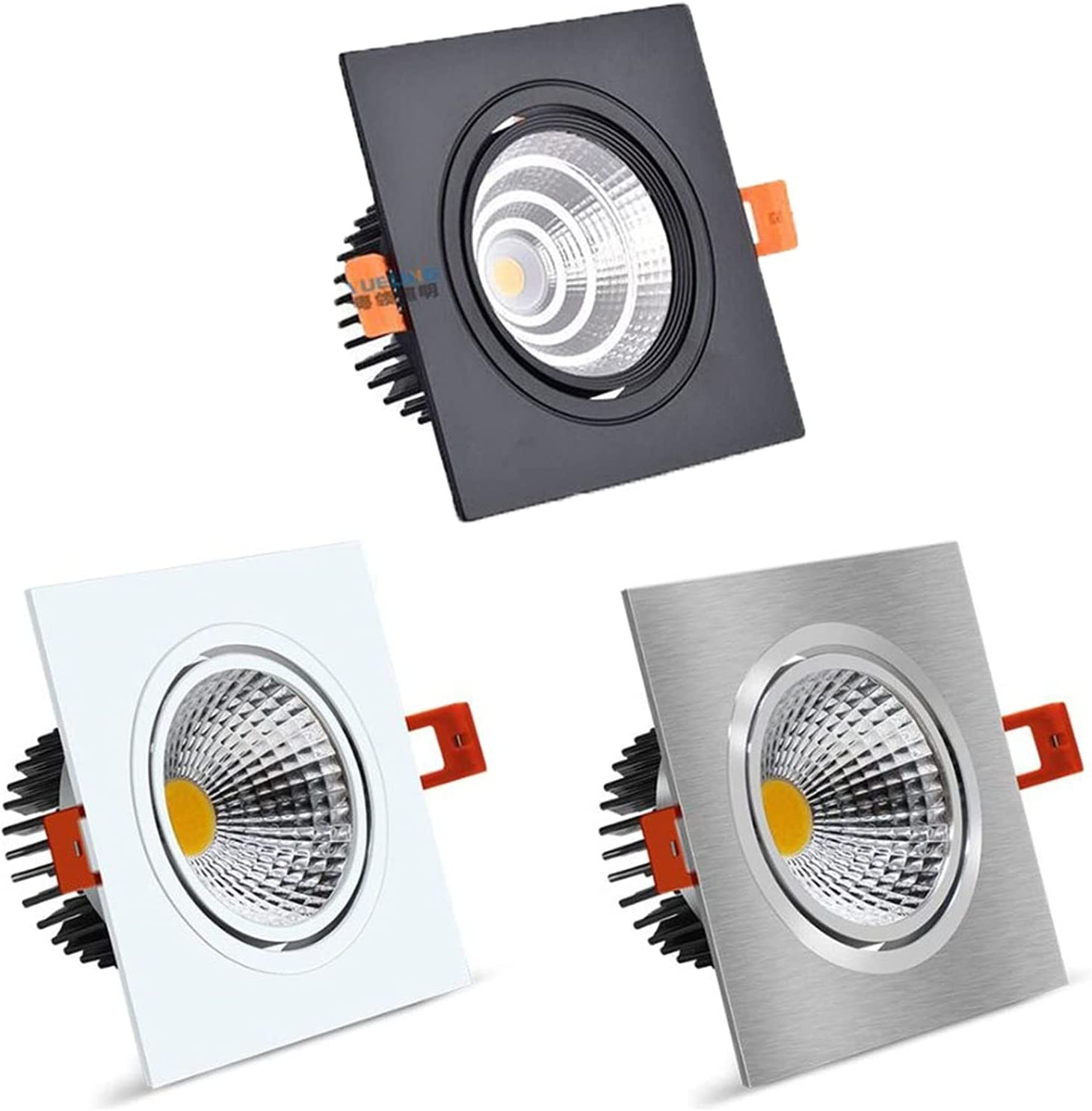 YSJJJBR Downlights Installation Square Dimmable LED Boston Mall 7 Recommendation