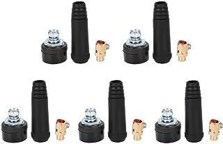 5 stks Laskabel Gezamenlijke Snelkoppeling Laskabel Panel Bakje Connector Elektrische Socket Lasmachine