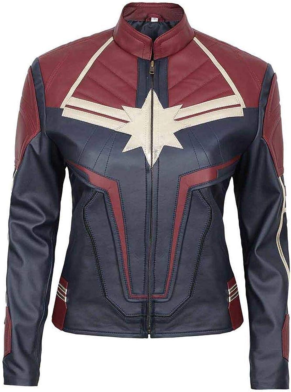 Carol Danvers New Captain Marvel Faux Leather Jacket