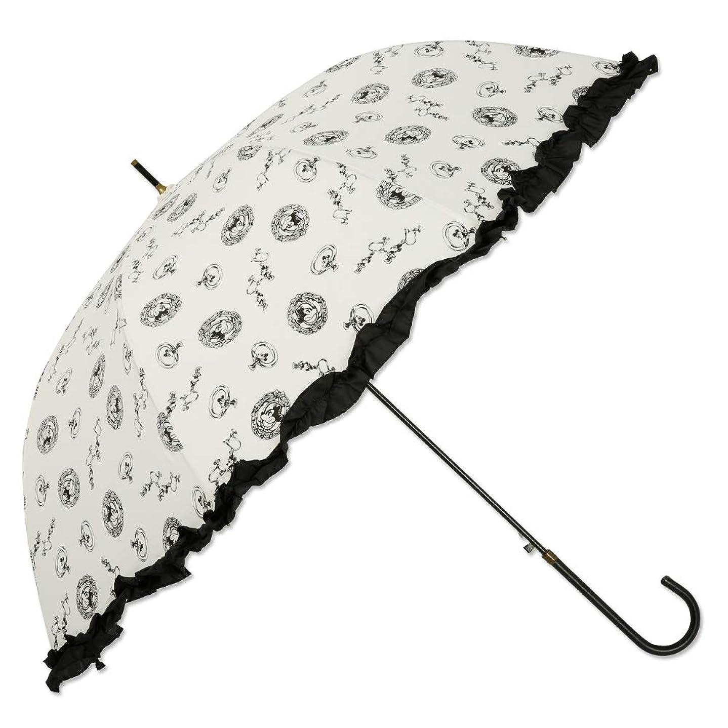 治安判事教室一致する【Disney】レディース 雨傘 60cm<ミニーマウス>LINEDROPS限定販売