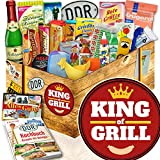 King of Grill / DDR Paket 24tlg. / Geburtstagsgeschenk grillen