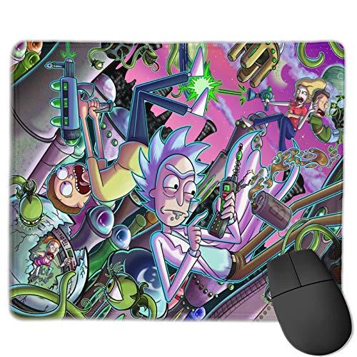 Rick And Morty The Mouse Pad Alfombrilla de mesa de juego, cómoda alfombrilla de ratón, alfombrilla de ratón de microfibra ultrafina, base de goma antideslizante