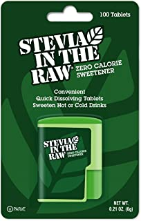 Stevia In The Raw, 100 Count Tablets