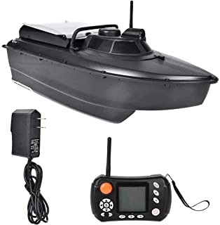 GPS Fish Bait Boat, Autopilot RC Sonar Remote Control Wireless Fish Finder Lure Boat Fish Finder with Night Light