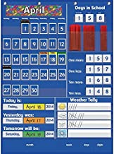 Really Good Stuff 161106 Efficient Classroom Daily Calendar, 22