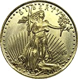 Exquisite Collection of Commemorative Coins United States 25 Dollar America Eagle Bullion Coin 2015 Brass Metal Commemorative Gold Coin Copy Coin US Silver Dollar Commemorative Collectible Coin Crafts