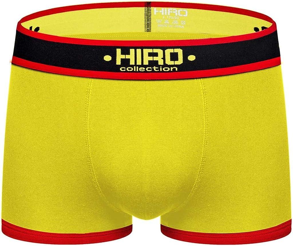 MODOQO Men's Fashion Splicing Soft Briefs Underpants Knickers Shorts Sexy Underwear
