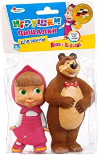 Masha and the Bear Rubber Bath Toys