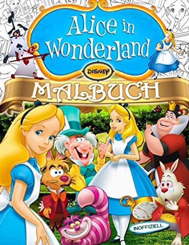 Alice In Wonderland Malbuch: Alice Malbuch: Große Abenteuer Mit Ultimativen Inoffiziellen Illustrationen