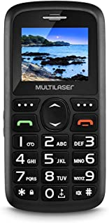 Celular Vita Dual Chip Tela 1, 8 Pol. Usb E Bluetooth Preto Multilaser - P9048