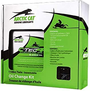 Arctic Cat 4 Stroke 1100cc Snowmobile Oil Change Kit OEM 6639-528