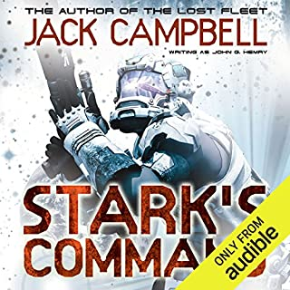 Stark's Command     Stark's War, Book 2              Written by:                                                                                                                                 Jack Campbell                               Narrated by:                                                                                                                                 Eric Michael Summerer,                                                                                        Jack Campbell                      Length: 10 hrs and 12 mins     2 ratings     Overall 4.0