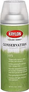 Krylon K01372000 Gallery Series Conservation Retouch Varnish Aerosol Spray, 11 Ounce