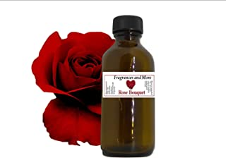 Rose Bouquet Fragrance Oil  Soap Making  Candle Making  Use with Diffusers  Add to Bath & Body Products  Home and Office Scents  2 oz Amber Glass Bottle