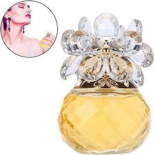 Eau de Parfum para mujer 60 ml Perfume de fragancia de madera de dama de larga duración(Yellow Gold)