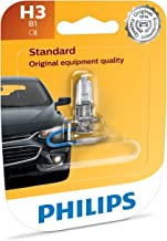 Philips H3 Standard Headlight Bulb, Pack of 1