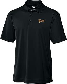 NCAA Arizona State Sun Devils Men's CB Dry Tec Genre Polo, Large, Black