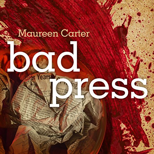Bad Press audiobook cover art