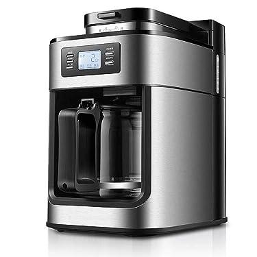 JCSW Kaffeevollautomat, kaffeemaschine, Cappuccino, Espresso und Kaffee auf Knopfdruck, kaffeemaschinen & -zubereiter, 1000 Watt, 1.2 L, K006