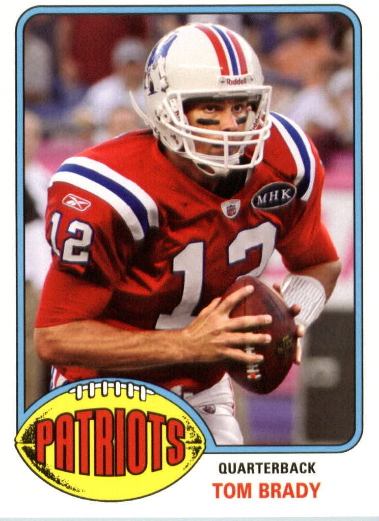 2013 Topps Archives NFL Luxury goods Football Brady Tom Card #12 Kansas City Mall