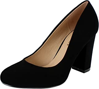 Best black velvet heels closed toe Reviews