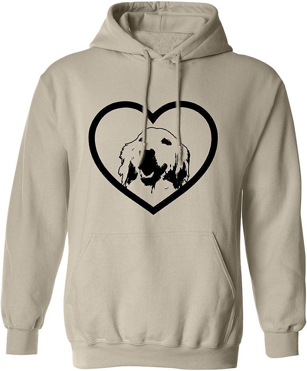 Golden Retriever Adult Hooded Sweatshirt