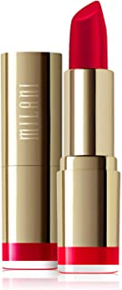 Milani Color Statement Lipstick - Red Label, Cruelty-Free Nourishing Lip Stick in Vibrant Shades, Red Lipstick, 0.14 Ounce