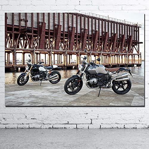 Super Motocicleta Fondo de Pantalla_Puzzle Adulto 1000 Piezas_Diviértete y diviértete con Amigos y Familiares_50x75cm