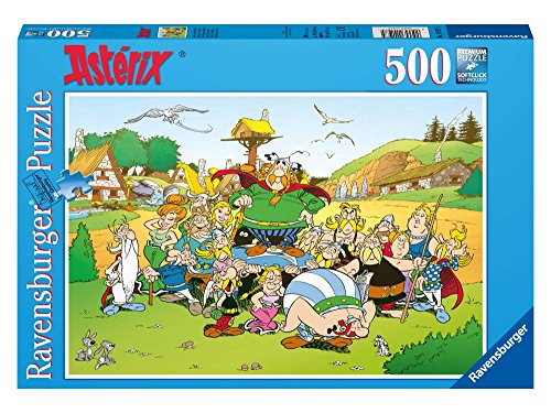 Ravensburger 14197 - Asterix und Sein Dorf - 500 Teile Puzzle