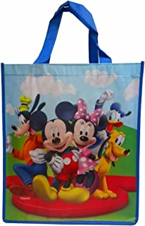 Disney Mickey Mouse and Friends Large Reusable Tote Bag (Mickey and Friends)