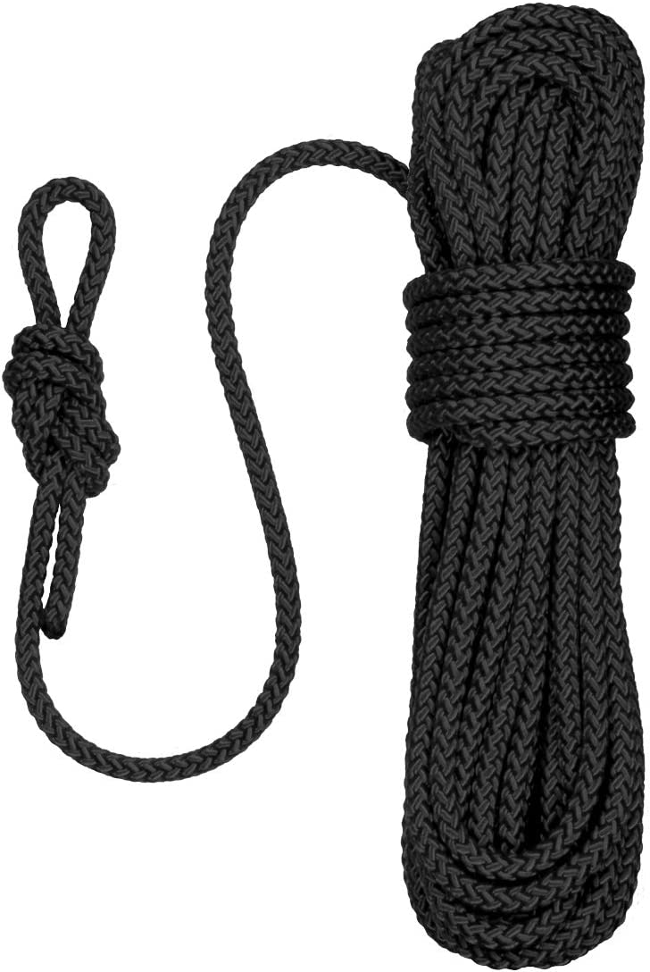Expedition Tough and Lightweight Magnet Fishing Outdoor 8mm Diameter Heavy Duty Marine Grade Floating Rope Sailing Flexible Water and UV Resistant Paragon Rope with Loop