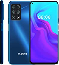 CUBOT X30 Unlocked Smartphone (6GB+128GB) with 6.4-Inch FHD+ Display,Five Al Cameras, Android 10, 4200mAh Battery, 4G Dual...